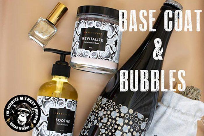 Base Coat and Bubbles
