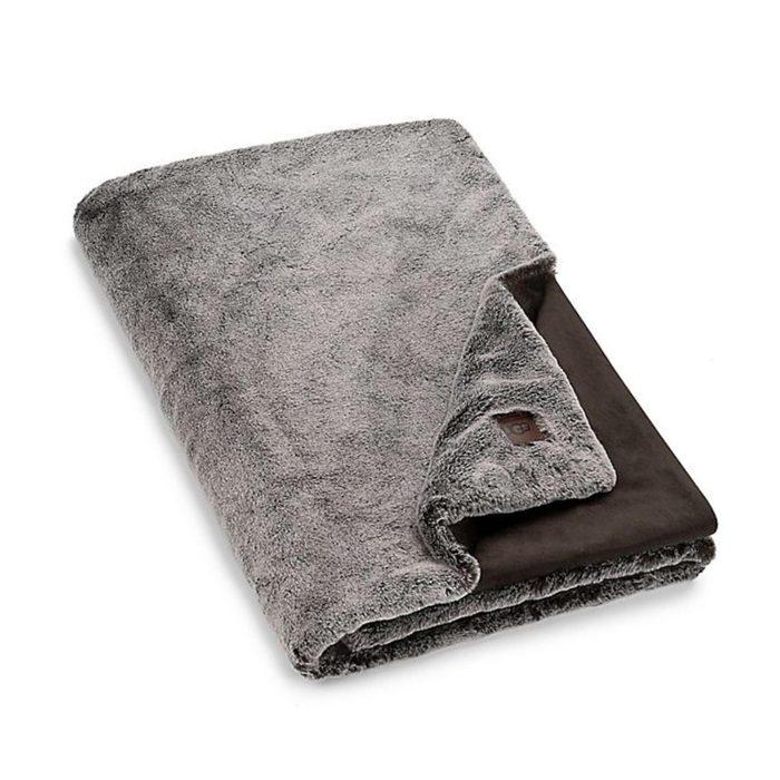 UGG Faux Fur Throw Blanket