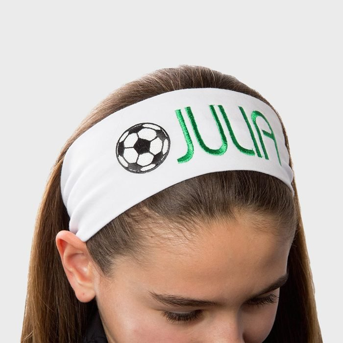Funny Girl Designs Monogrammed Embroidered Headband