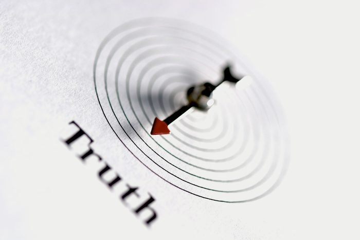 """arrow pointing to """"Truth"""""""