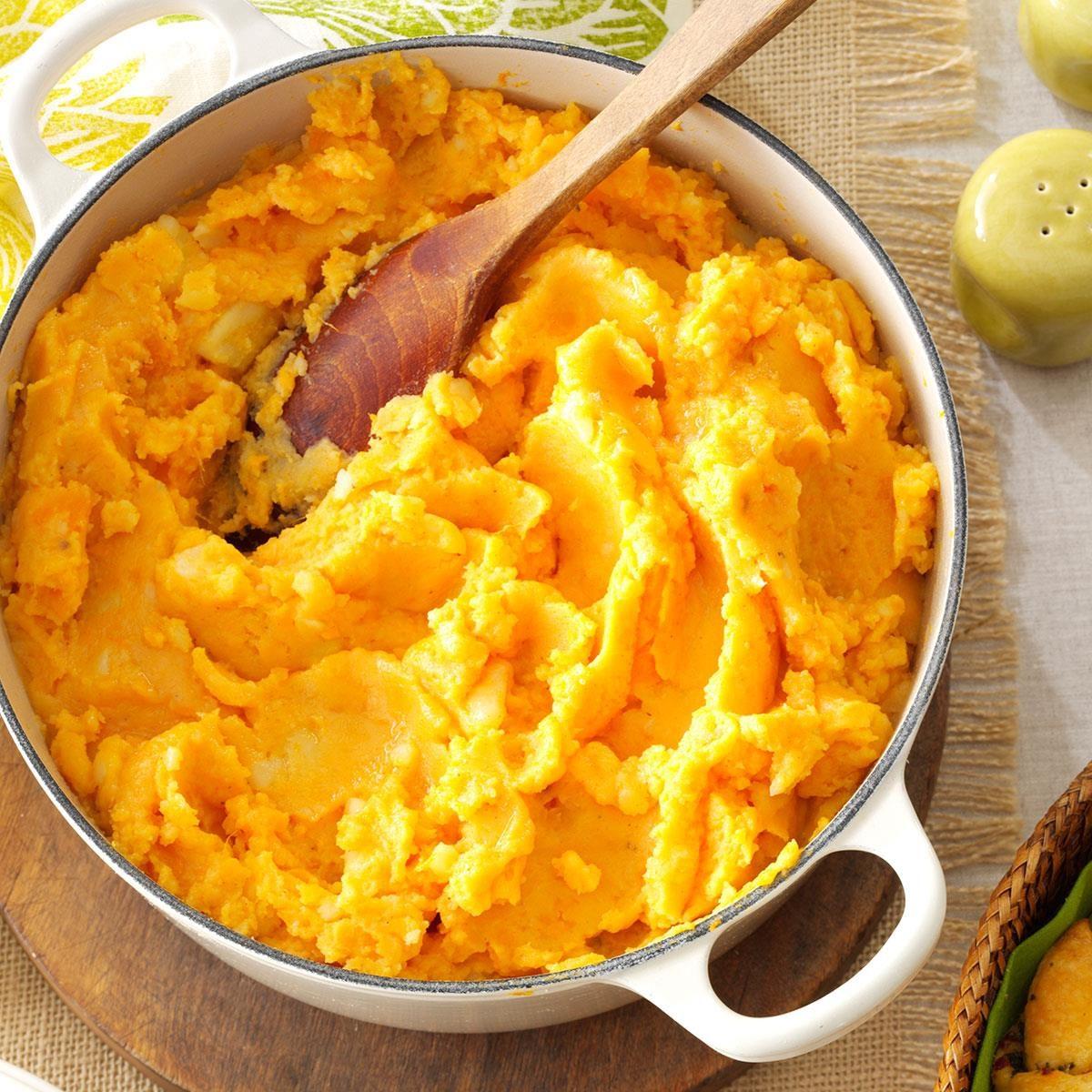 Louisiana: Gouda Mixed Potato Mash