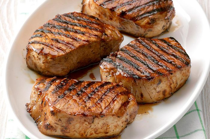 Minnesota: Grilled Maple Pork Chops