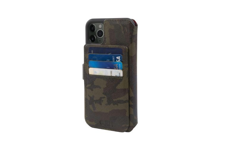 camo leather 4 in 1 case for iphone