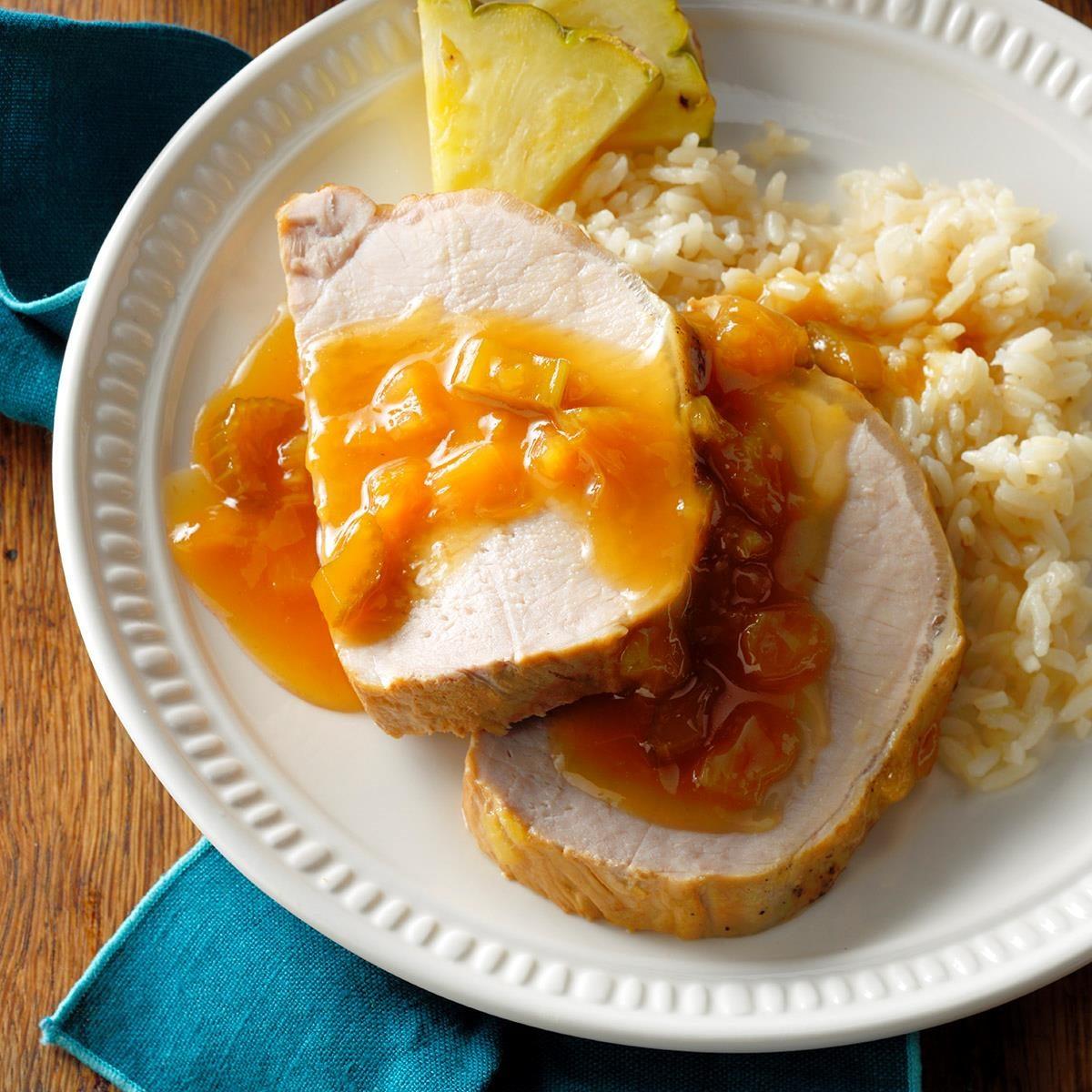 Hawaiian Pork Roast with Pineapple