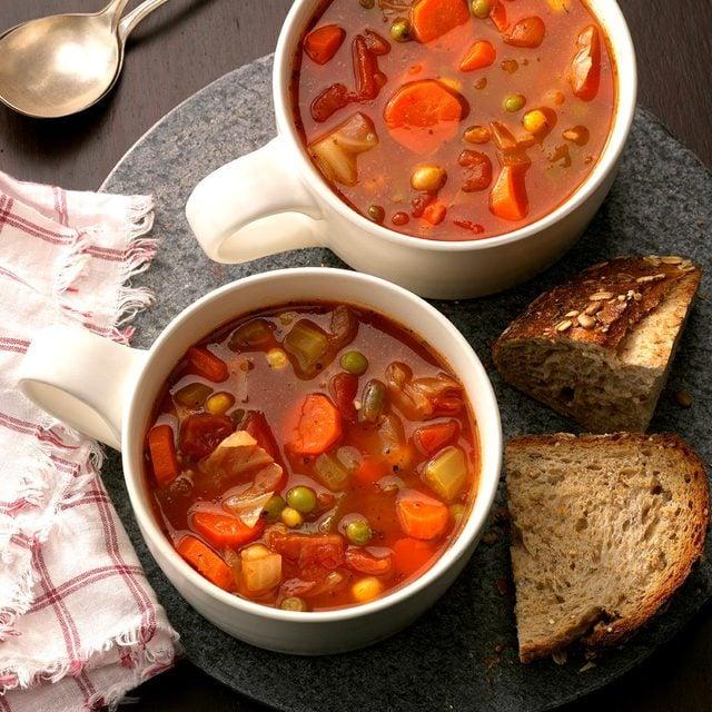 taste of home vegetable soup