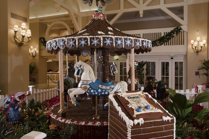 disney holiday display