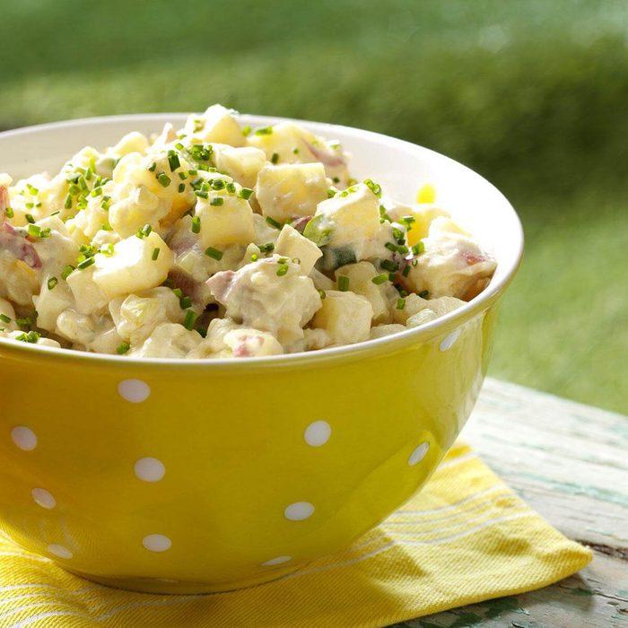 Wyoming: Honey-Dijon Potato Salad