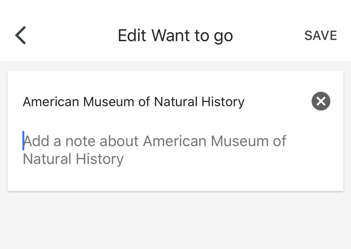 edit list google maps