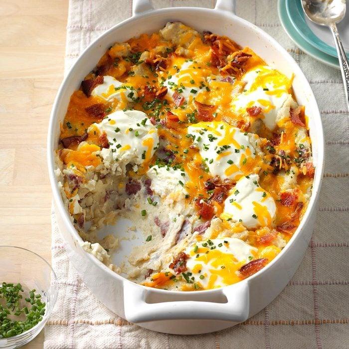 Kentucky: Loaded Red Potato Casserole