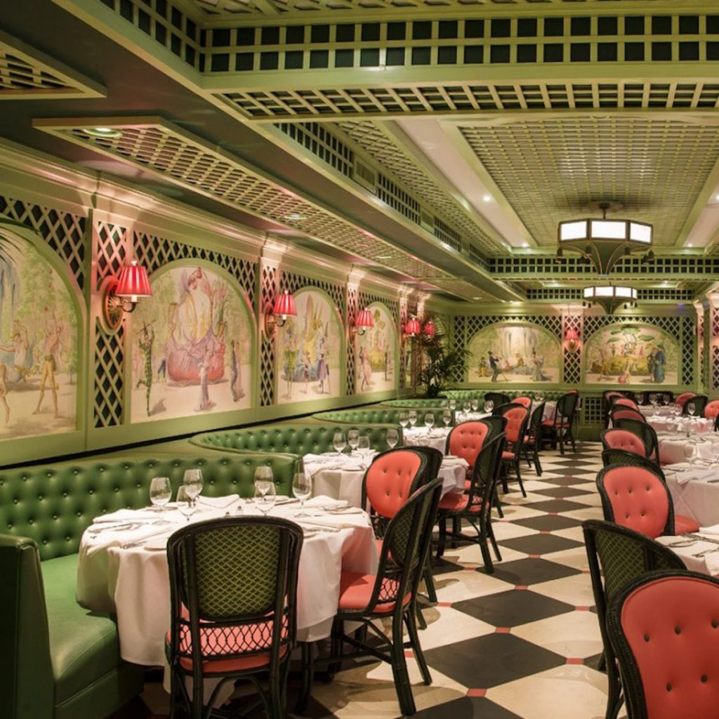 Interior of Brennan's in New Orleans