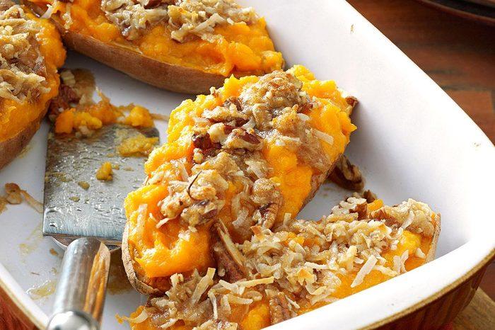 Arkansas: Makeover Streusel-Topped Sweet Potatoes