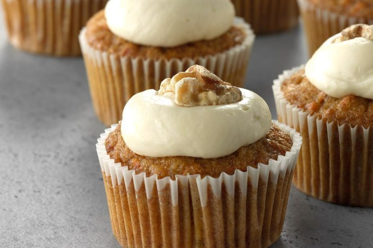 New Jersey: Maple Carrot Cupcakes