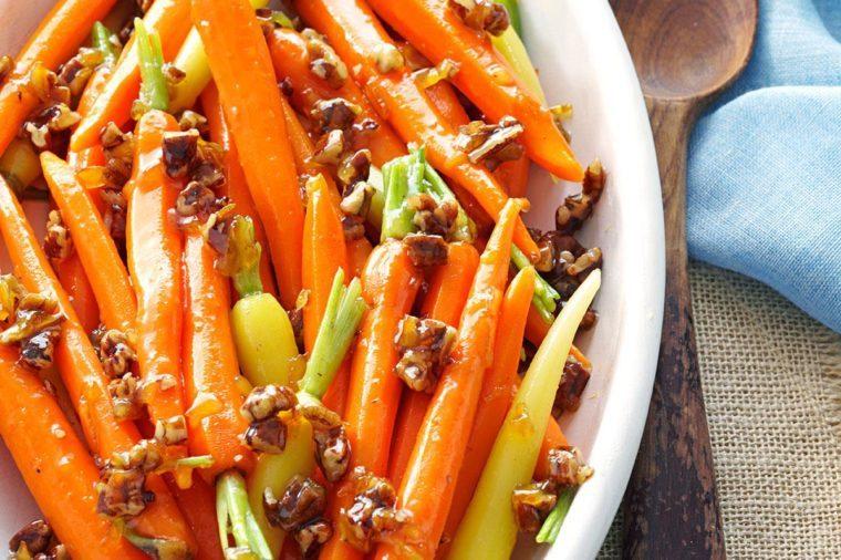 North Carolina: Marmalade Candied Carrots