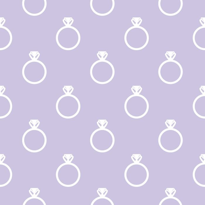 Background with ring symbols