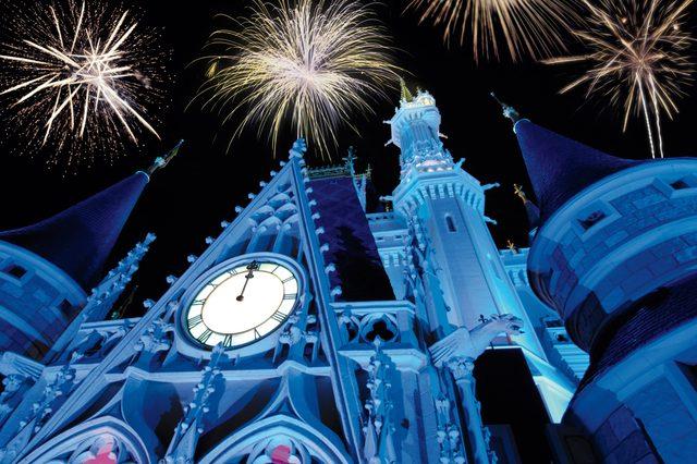 new year's eve at magic kingdom