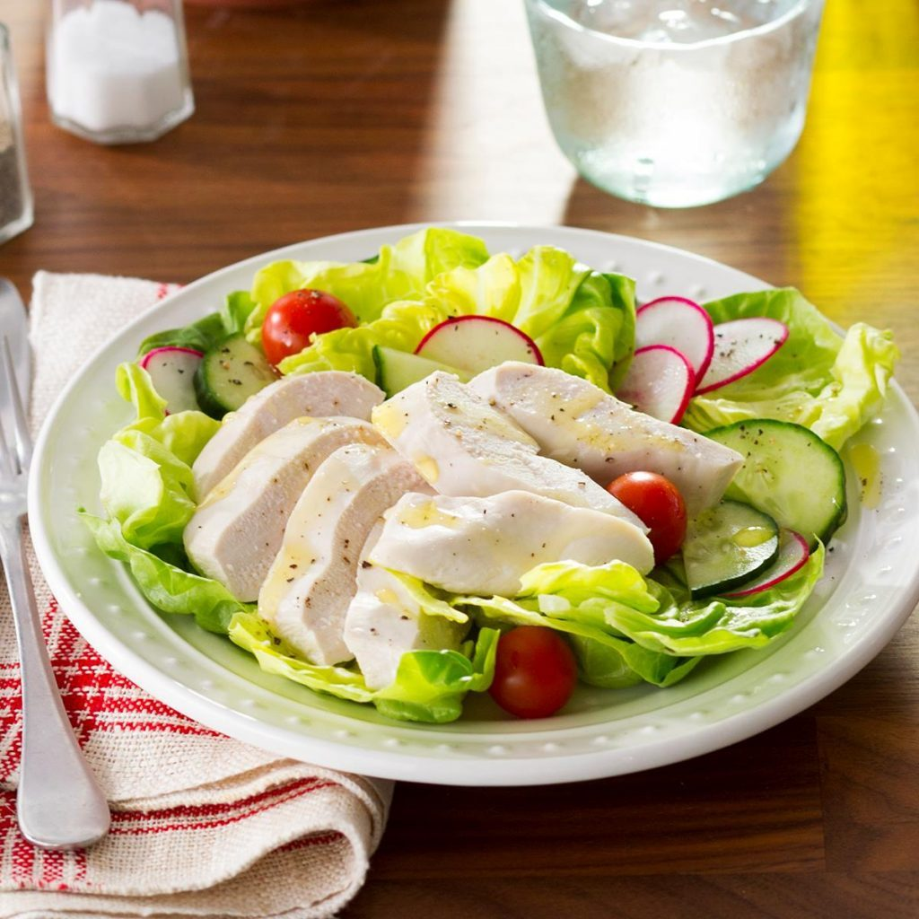 taste of home poached chicken