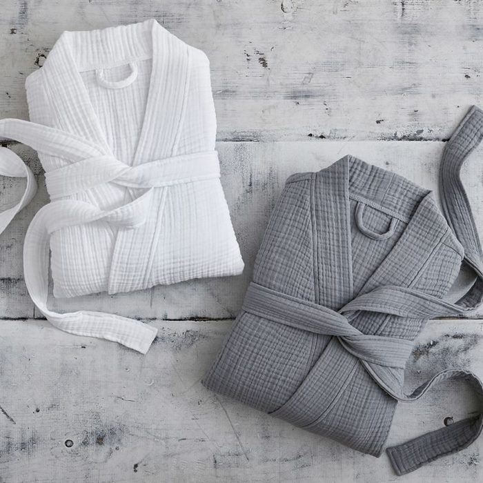 Pottery Barn Soft Cotton Robes