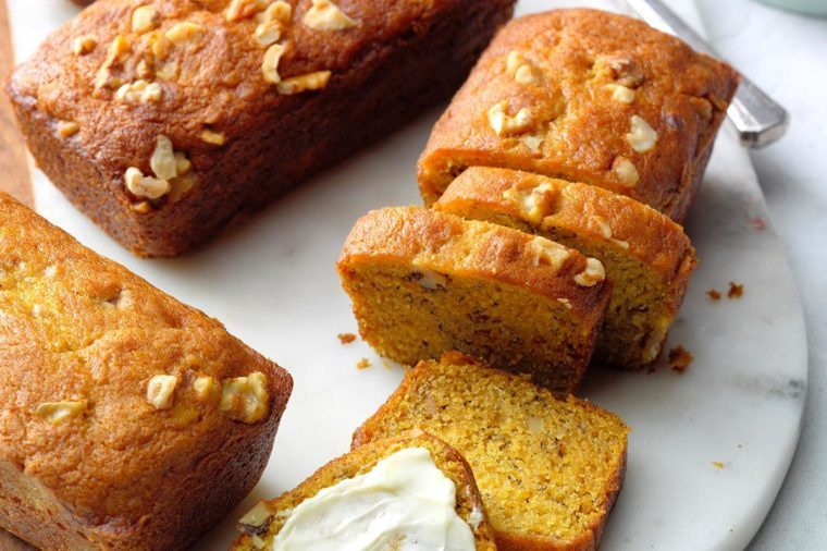Virginia: Pumpkin Banana Bread