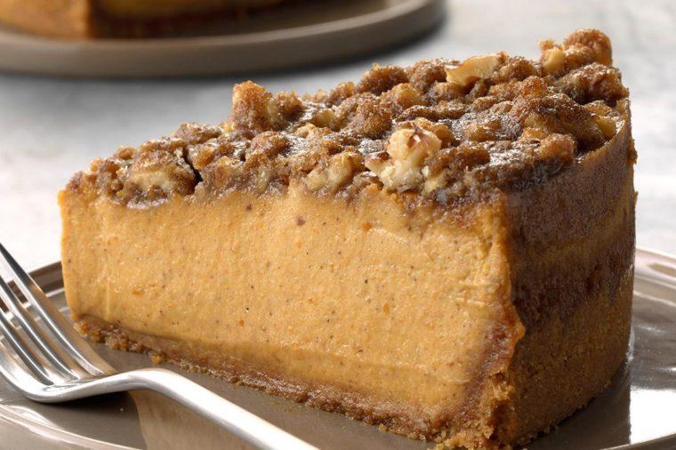 Texas: Pumpkin Walnut Cheesecake