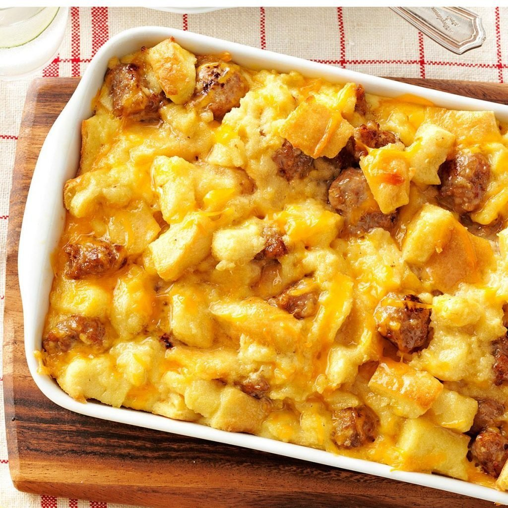 taste of home sausage and egg casserole
