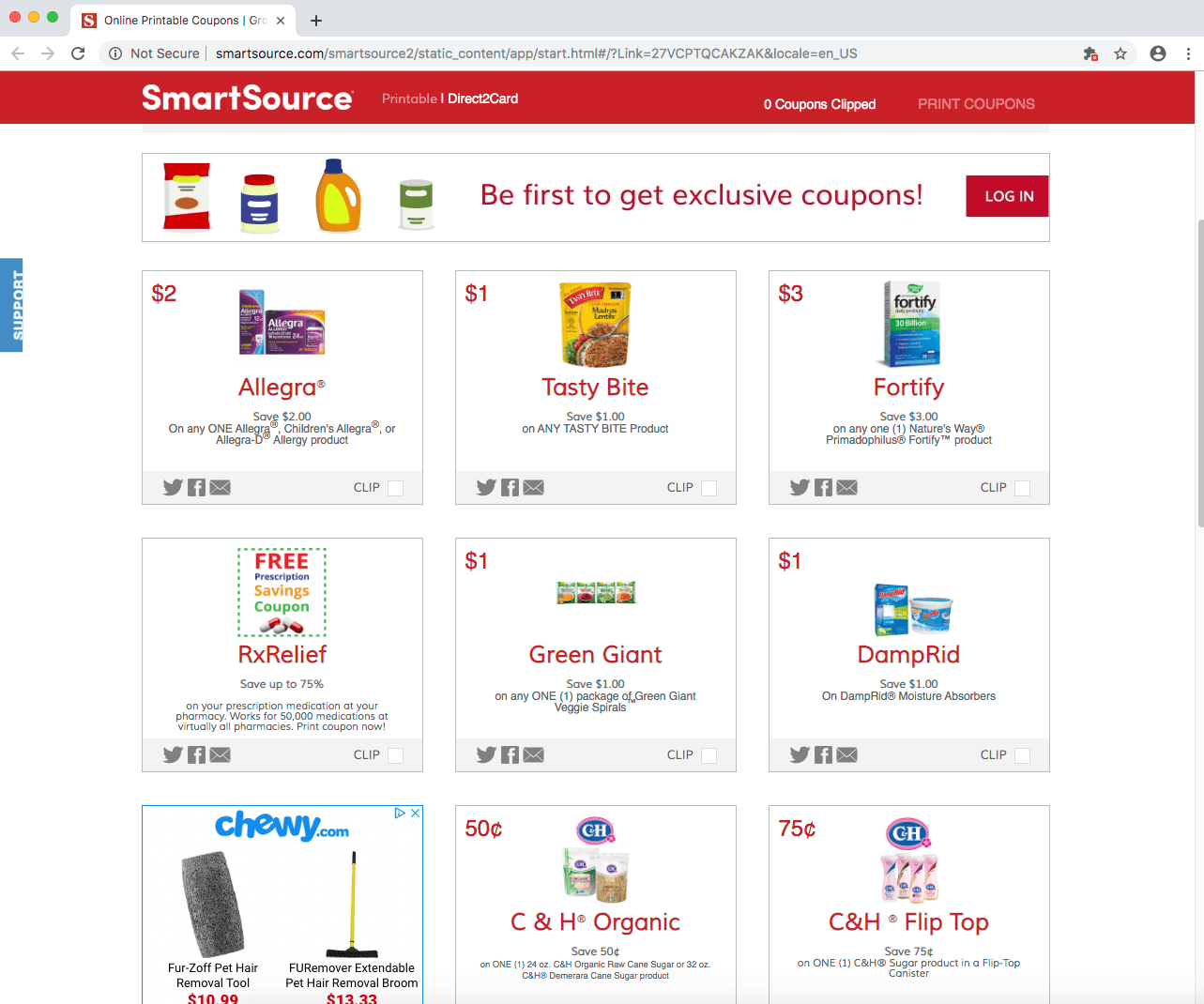 smart source coupons