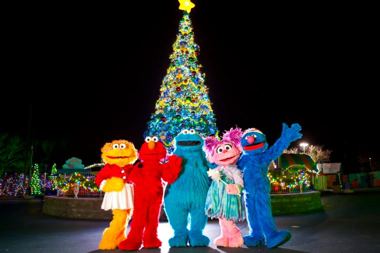 Sesame Place Christmas