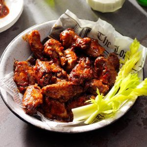 Minnesota: Sweet and Spicy Chicken Wings