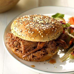 Arkansas: Tangy Barbecue Sandwiches