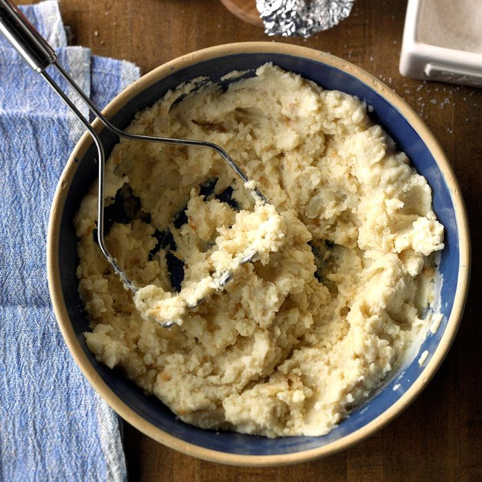 Texas: Texas Garlic Mashed Potatoes