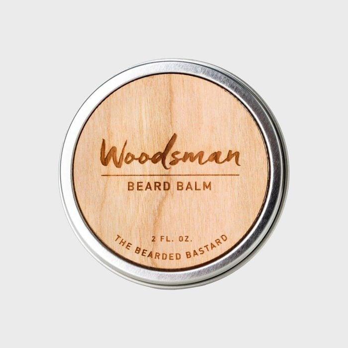 The Bearded Bastard Woodsman Classic Beard Balm