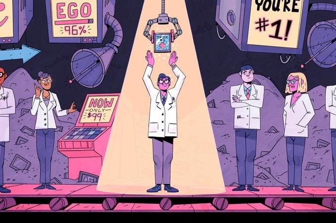 top doctor illustration by justin volz