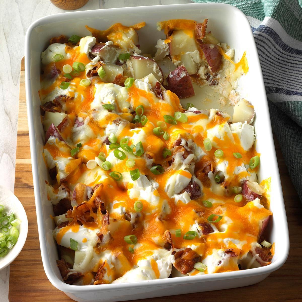Ohio: Twice-Baked Potato Casserole