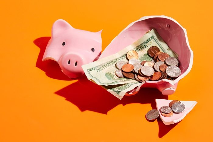 smashed piggy bank concept photography by sarah anne ward