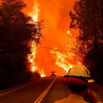 What It Feels Like to Be Caught Inside a California Wildfire