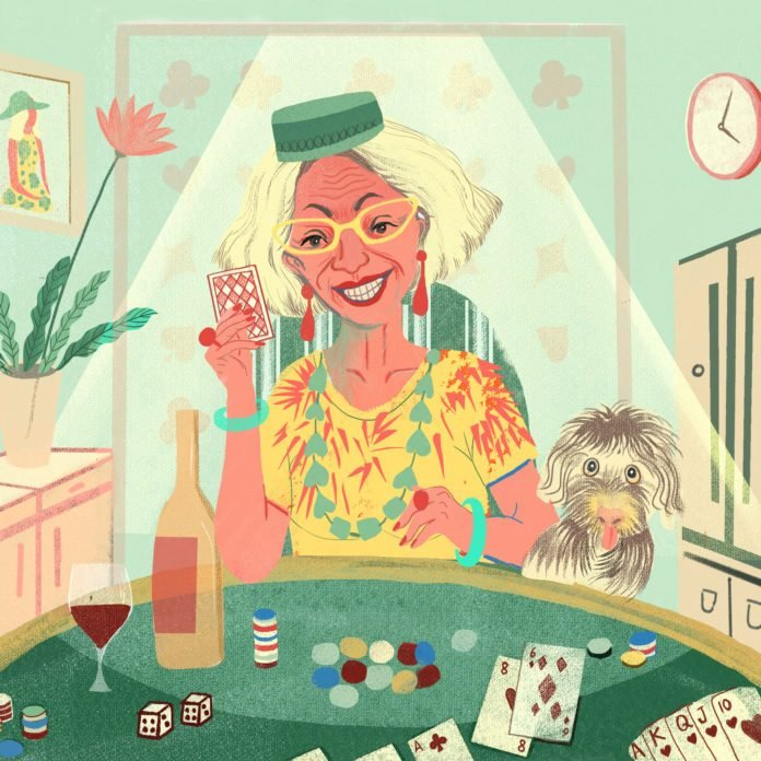Here's How a 78-Year-Old Gambler Brought One Woman Humanity