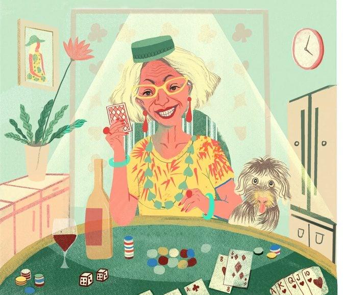 illustration gambling