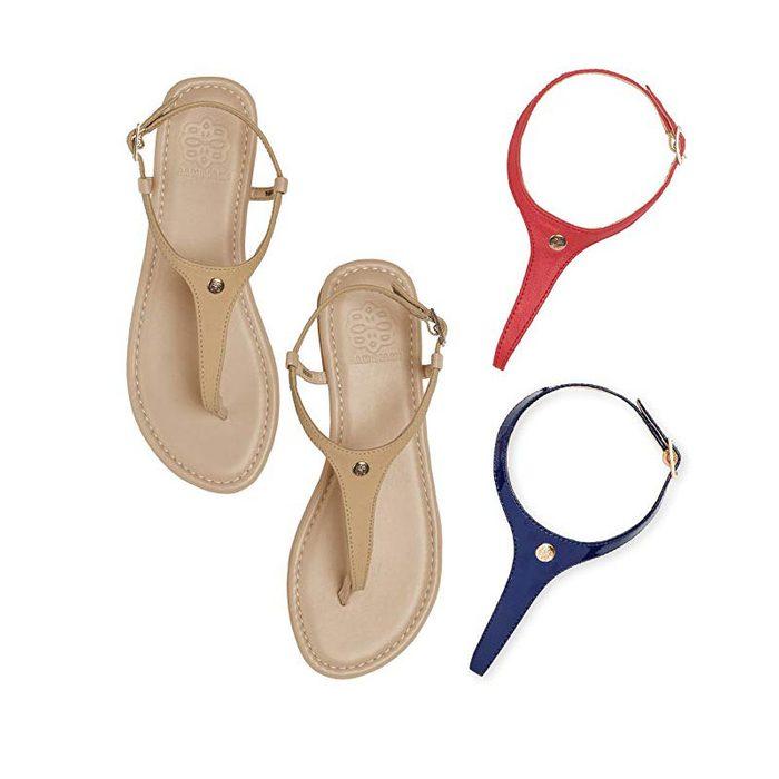 customizable sandals