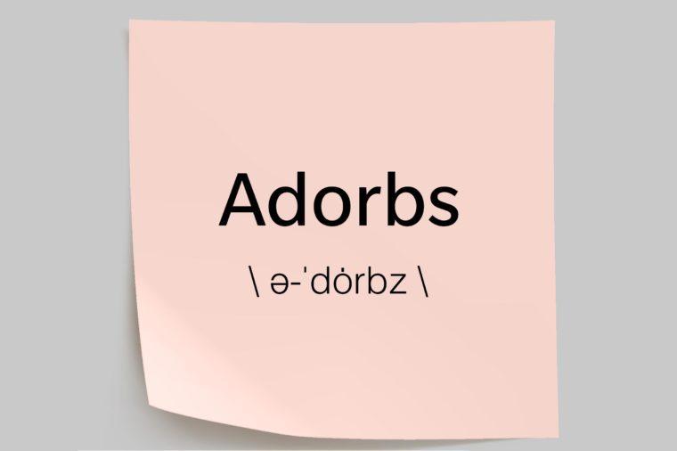 adorbs sticky note