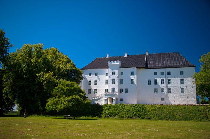beautiful Castle of Dragsholm Nothern Zeland, Denmark.