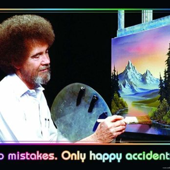 Why Bob Ross Made 3 Copies of Every Painting on His Show