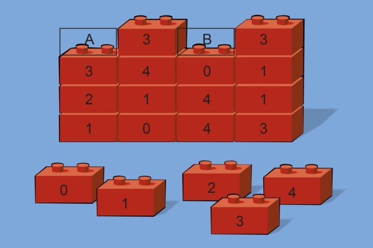 build it math problem illustration