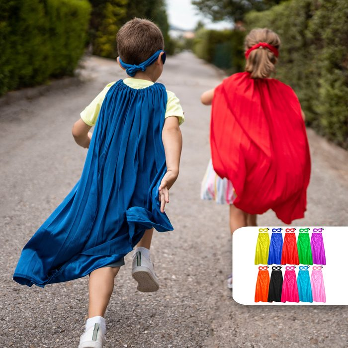 superhero capes group costumes