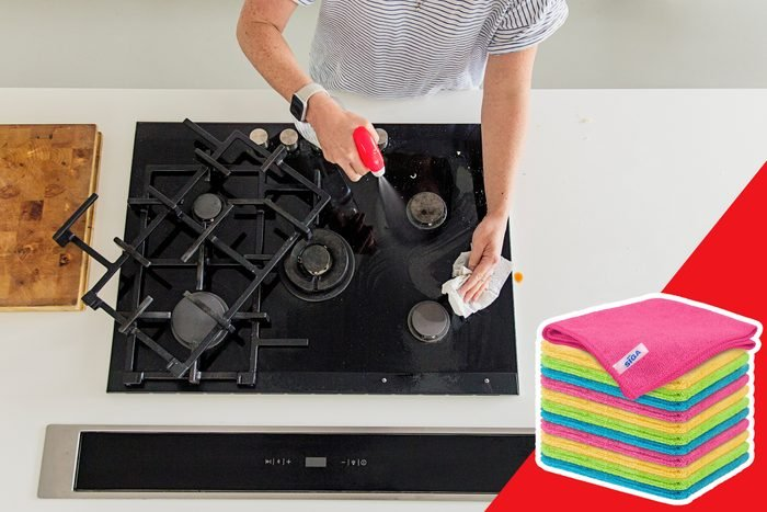 chemical cleaner stovetop