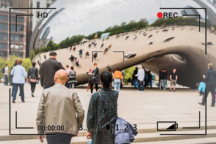 chicago illinois the bean cloud gate surveillance