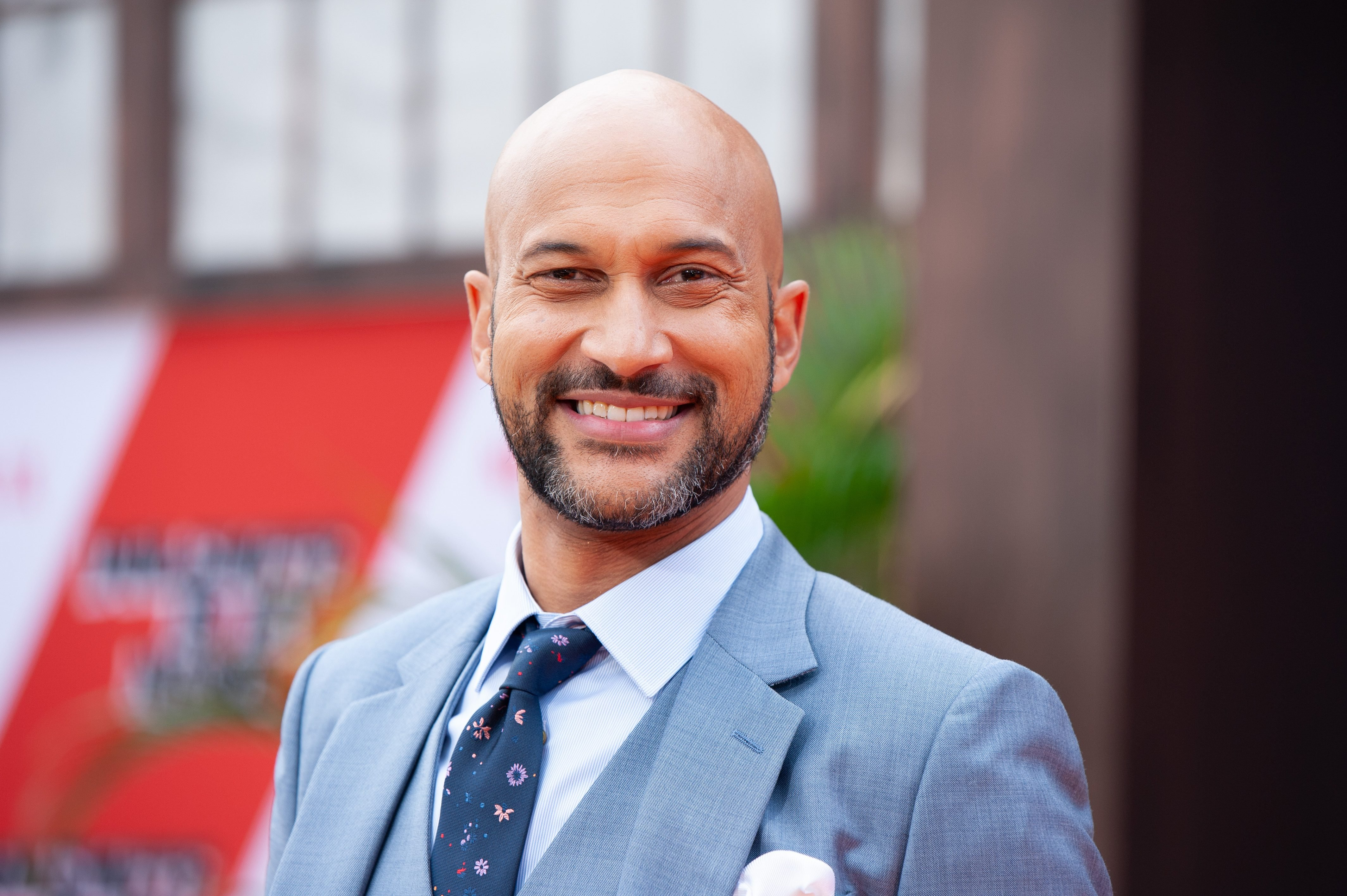 Mandatory Credit: Photo by CHRISTIAN MONTERROSA/EPA-EFE/Shutterstock (10429461o) Keegan-Michael Key poses on the red carpet during the premiere of the Netflix film Dolemite Is My Name at the Regency Village Theatre in Los Angeles, California, USA, 28 September 2019. Dolemite Is My Name Premiere in Los Angeles, USA - 28 Sep 2019