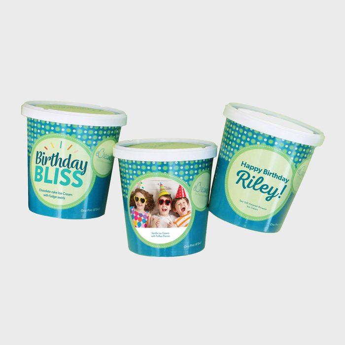 Ecreamery Personalized Ice Cream Pints
