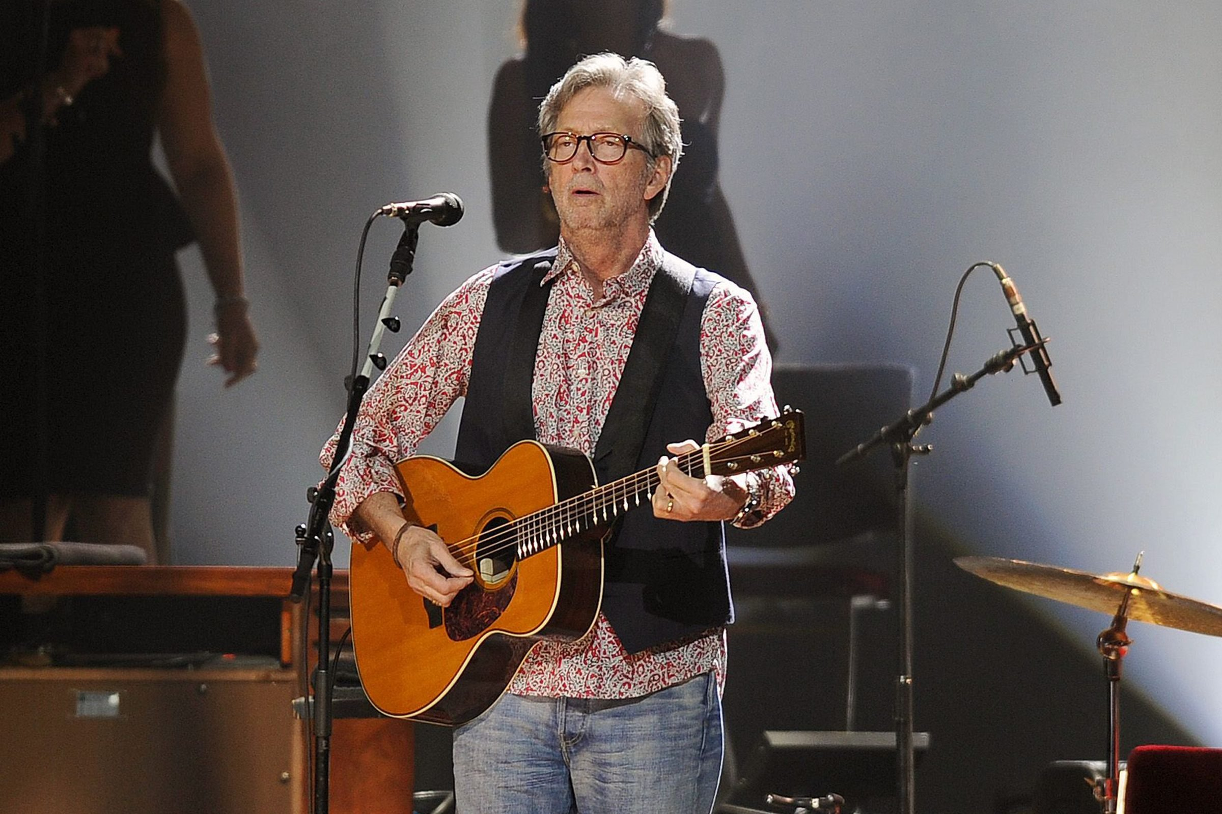 Mandatory Credit: Photo by Shutterstock (2229030f) Eric Clapton Eric Clapton in concert at Hard Rock Live, Florida, America - 30 Mar 2013