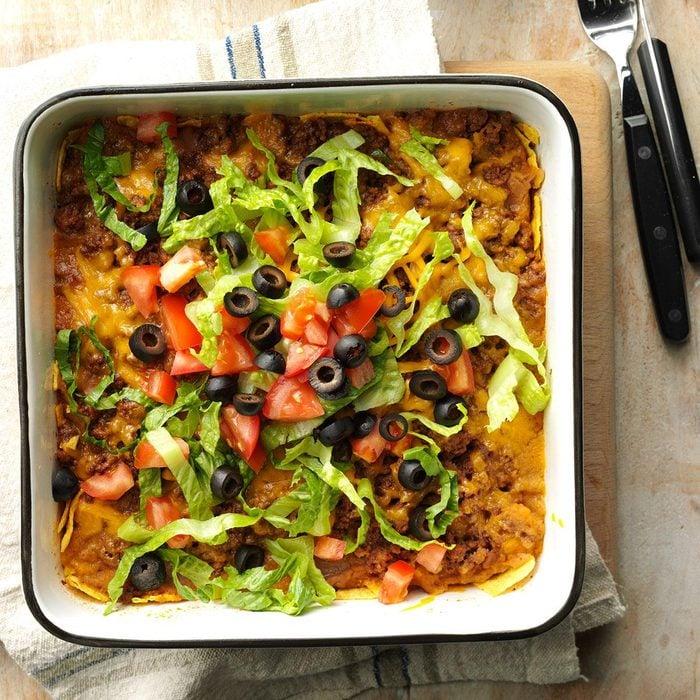 Kansas: Taco Salad Casserole