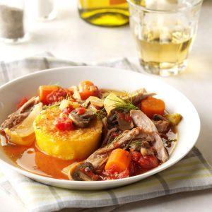 Delaware: Italian-Style Turkey with Polenta