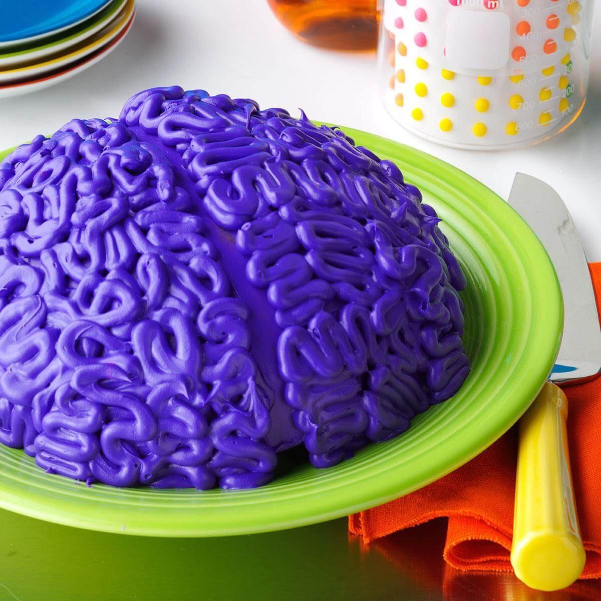California: Brainy Cake